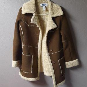 Old Navy retro vintage lapel coat